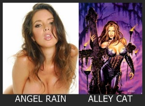 Angel Rain como Alley Cat
