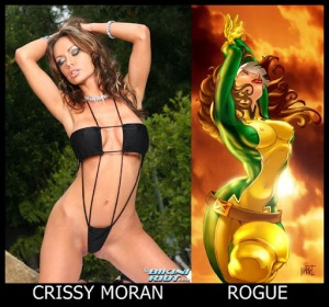 Crissy Moran como Vampira