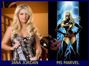 Jana Jordan como Senhora Marvel