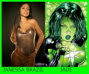 Janessa Brazil como Jade