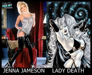 Jenna Jameson como Lady Death