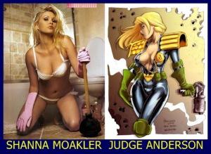 Shanna Moakler como Judge Anderson
