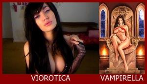 Viorotica como Vampirella