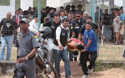 IMAGEM - Rebelião na penitenciária de Pedrinhas em São Luis - MA