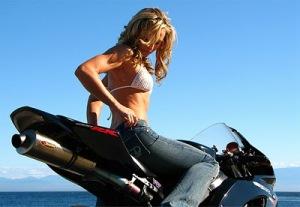 Chicas en Moto - Fondos de pantalla